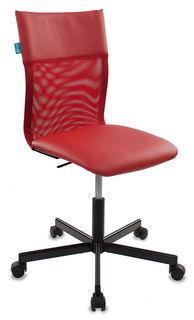 Кресло БЮРОКРАТ CH-1399, на колесиках, искусственная кожа, красный [ch-1399/red]