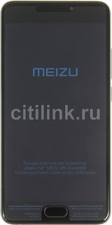 Смартфон MEIZU M5 Note 16Gb, M621H, серый