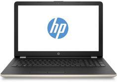 "Ноутбук HP 15-bs047ur, 15.6"", Intel Pentium N3710 1.6ГГц, 4Гб, 500Гб, AMD Radeon 520 - 2048 Мб, Windows 10, 1VH46EA, золотистый"