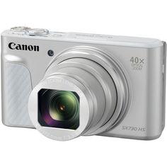 Цифровой фотоаппарат CANON PowerShot SX730HS, серебристый