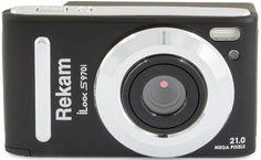 Цифровой фотоаппарат REKAM iLook S970i, черный
