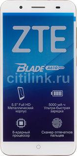 Смартфон ZTE Blade A610 Plus, золотистый