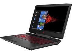 "Ноутбук HP Omen 17-an039ur, 17.3"", Intel Core i5 7300HQ 2.5ГГц, 8Гб, 1000Гб, 128Гб SSD, nVidia GeForce GTX 1060 - 6144 Мб, DVD-RW, Windows 10, 2FP34EA, черный"