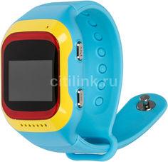 "Смарт-часы GINZZU GZ-501, 0.98"", красный/желтый / синий"