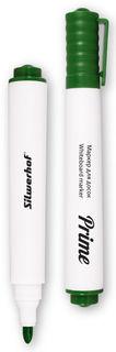 Маркер для досок Silwerhof PRIME 118005-03 (толщина линии 1-3мм) зеленый коробка