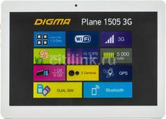 Планшет DIGMA Plane 1505 3G + Navitel, 1GB, 8GB, 3G, Android 5.1 белый [ps1083mg navitel]