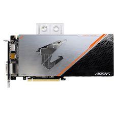 Видеокарта GIGABYTE nVidia GeForce GTX 1080Ti , GV-N108TAORUS X WB-11GD, 11Гб, GDDR5X, OC, Ret