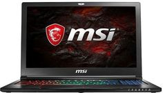"Ноутбук MSI GS63 7RE(Stealth Pro)-045RU, 15.6"", Intel Core i7 7700HQ 2.8ГГц, 8Гб, 1000Гб, 128Гб SSD, nVidia GeForce GTX 1050 Ti - 4096 Мб, Windows 10, 9S7-16K412-045, черный"
