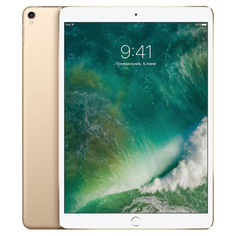 "Планшет APPLE iPad Pro 2017 10.5"" 512Gb Wi-Fi + Cellular MPMG2RU/A, 4GB, 512Гб, 3G, 4G, iOS золотистый"