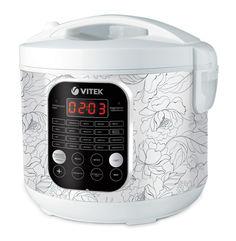 Мультиварка VITEK 4270, 900Вт, белый [4270-vt-01]