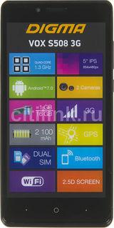 Смартфон DIGMA S508 3G VOX, серый