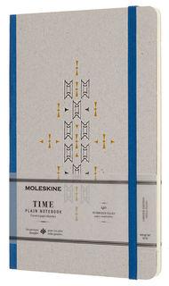 Блокнот Moleskine Limited Edition TIME NOTEBOOKS Large 130х210мм обложка картон 140стр. линейка сини [lctm33b]