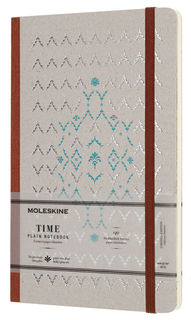 Блокнот Moleskine Limited Edition TIME NOTEBOOKS Large 130х210мм обложка картон 140стр. линейка кори [lctm33p]