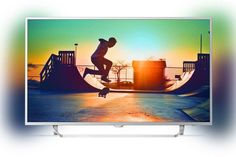 "LED телевизор PHILIPS 49PUS6412/12 ""R"", 49"", Ultra HD 4K (2160p), серебристый"