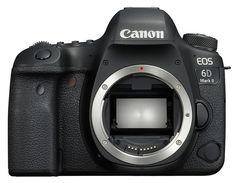 Зеркальный фотоаппарат CANON EOS 6D Mark II body, черный