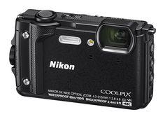 Цифровой фотоаппарат NIKON CoolPix W300, черный