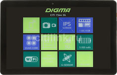 Планшет DIGMA CITI 1544 3G, 1GB, 8GB, 3G, Android 7.0 черный