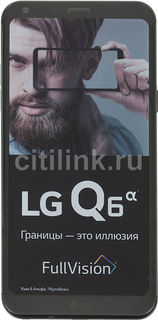 Смартфон LG Q6a 16Gb, M700, черный