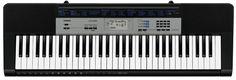 Синтезатор CASIO CTK-1550, 61, невзвешенная, полноразмерные, 32, черный