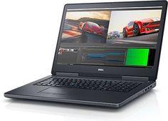 """Ноутбук DELL Precision 7720, 17.3"""", Intel Core i7 7820HQ 2.9ГГц, 16Гб, 2Тб, 256Гб SSD, nVidia Quadro P3000 - 6144 Мб, Windows 10 Professional, 7720-8055, черный"""