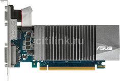 Видеокарта ASUS nVidia GeForce GT 710 , GT710-SL-1GD5, 1Гб, GDDR5, Low Profile, Ret