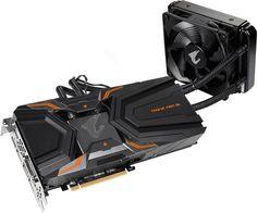 Видеокарта GIGABYTE nVidia GeForce GTX 1080Ti , GV-N108TAORUSX W-11GD, 11Гб, GDDR5X, OC, Ret