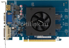 Видеокарта GIGABYTE nVidia GeForce GT 710 , GV-N710D5-1GI, 1Гб, GDDR5, Low Profile, Ret