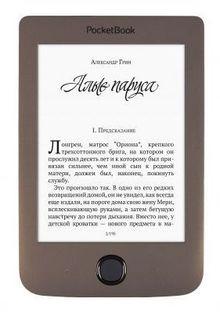 """Электронная книга POCKETBOOK 615 Plus, 6"""", коричневый"""