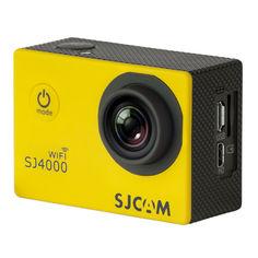 Экшн-камера SJCAM SJ4000 Wi-Fi 1080p, WiFi, желтый [sj4000wifiyellow]