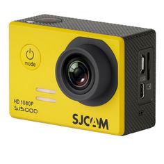 Экшн-камера SJCAM SJ5000 1080p, желтый [sj5000yellow]
