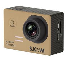 Экшн-камера SJCAM SJ5000 1080p, золотистый [sj5000gold]