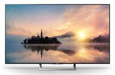 """LED телевизор SONY KD43XE7096BR 42.5"""", Ultra HD 4K (2160p), черный/ серебристый"""