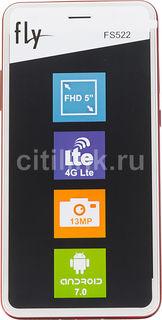 Смартфон FLY Cirrus 14 FS522, красный