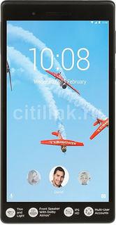 Планшет LENOVO Tab 7 TB-7504X, 2GB, 16GB, 3G, 4G, Android 7.0 черный [za380040ru]