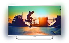 "LED телевизор PHILIPS 55PUS6412/12 ""R"", 55"", Ultra HD 4K (2160p), серебристый"