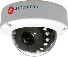 Видеокамера IP ACTIVECAM AC-D3111IR1, 3.6 мм, белый