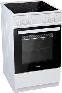 Электрическая плита GORENJE EC5112WG-B, стеклокерамика, белый