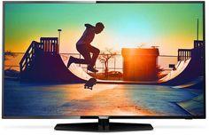 """LED телевизор PHILIPS 49PUT6162/60 """"R"""", 49"""", Ultra HD 4K (2160p), черный"""