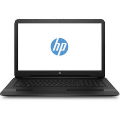 "Ноутбук HP 17-ak075ur, 17.3"", AMD A9 9420 3.0ГГц, 4Гб, 500Гб, AMD Radeon R5, DVD-RW, Windows 10, 2PW10EA, черный"