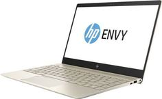 """Ноутбук HP Envy 13-ad103ur, 13.3"""", Intel Core i5 8250U 1.6ГГц, 8Гб, 360Гб SSD, nVidia GeForce Mx150 - 2048 Мб, Windows 10, 2PP90EA, золотистый"""