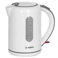 Чайник электрический BOSCH TWK7601, 2200Вт, белый