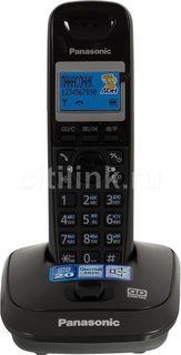 Радиотелефон PANASONIC KX-TG2521RUT, темно-серый металлик
