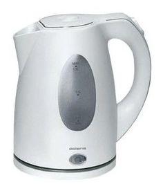 Чайник электрический POLARIS PWK1574CL, 2000Вт, белый