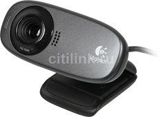 Web-камера LOGITECH HD Webcam C310, черный [960-001065]