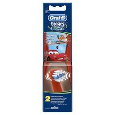 Сменные насадки для зубной щетки ORAL-B Kids Stages Cars Miki Princess, 2 шт [81318057/80250543]