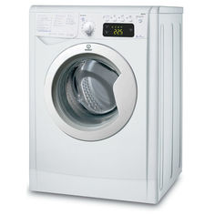 Стиральная машина INDESIT IWE 6105 B, фронтальная загрузка, белый