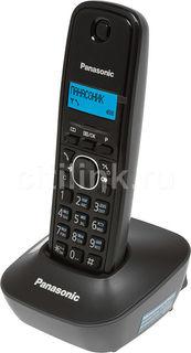 Радиотелефон PANASONIC KX-TG1611RUH, серый
