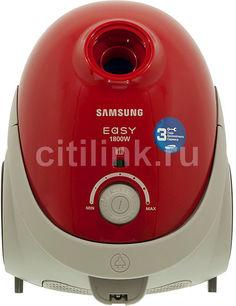 Пылесос SAMSUNG SC5251, 1800Вт, красный