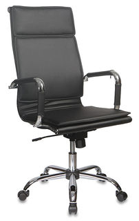 Кресло руководителя БЮРОКРАТ Ch-993, искусственная кожа, черный [ch-993/black]