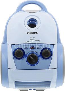Пылесос PHILIPS Jewel FC9071/01, 2000Вт, голубой